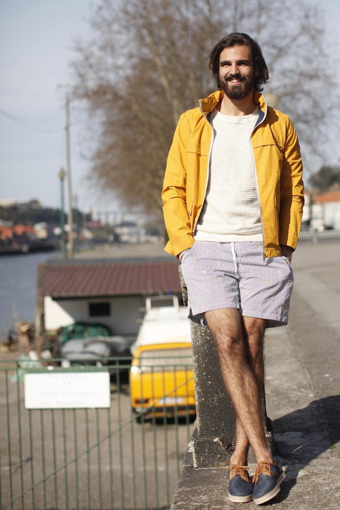 Beach shorts & parka 1