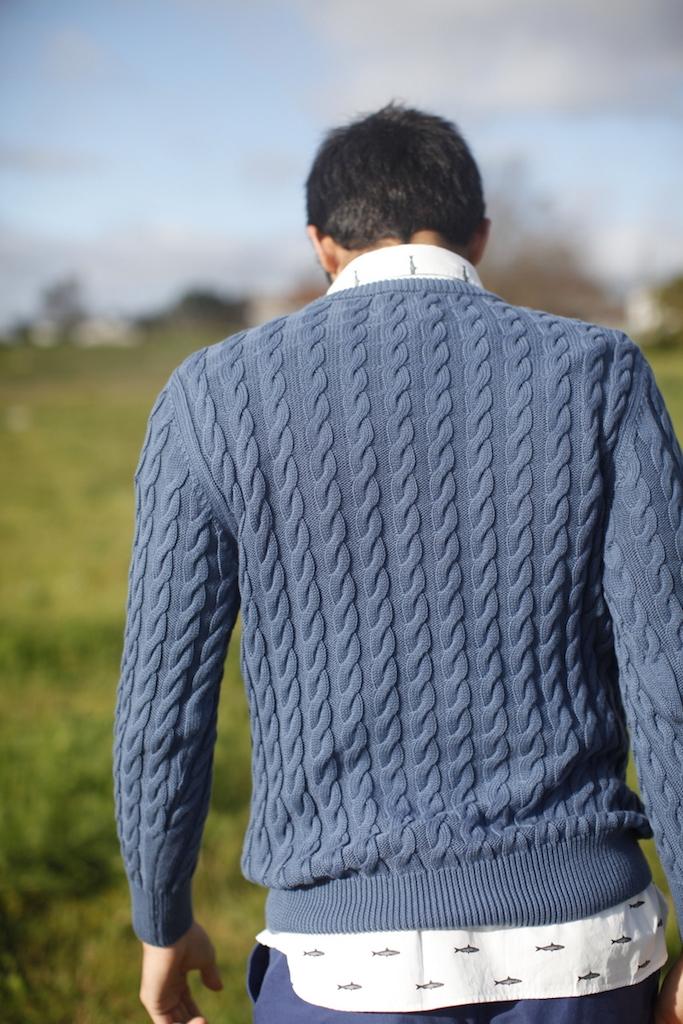 Fernandes Blue Sweater 4